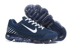 250d974809d Cheap Nike AirMax 2018 Mens Sneakers Navy Blue White Black Shoes at The  Swoosh are gearing up to release the next kicks from the Air Max family  tree