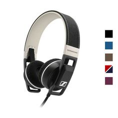 Sennheiser URBANITE On Ear Headphones with integrated microphone [These are the first pair of on-ear headphones that I would ever consider purchasing.]