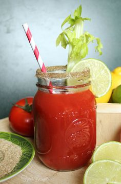 A Canadian Bloody Mary Recipe aka The Caesar - FYNES DESIGNS