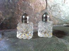 58 Best Vintage Glass Salt Pepper Shakers Images Salt Pepper