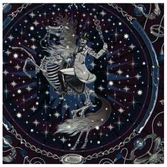 Spooky Hermes - Silk scarves