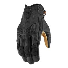 Icon 1000 Axys Gloves - Black