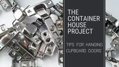 Tips for Hanging Cupboard Doors - Small Scale Engineering Hinges For Cabinets, Cupboard Doors, Small Drill Press, Types Of Hinges, Best Inventions Ever, Concealed Hinges, Left And Right Handed, Wardrobe Doors, Built In Shelves