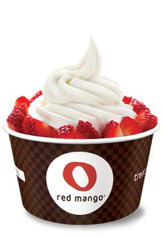Red Mango All Natural Frozen Yogurt     Red Mango beats out the frozen yogurt shop competition because it's made with nonfat yogurt and a pure cane sugar—and little else. It also has (slightly) fewer calories and less sugar than Pinkberry. Order the Coconut with fresh pineapple and dark chocolate chips—it adds a tropical breeze to a sticky weekend in the city. Small cup: $2.95
