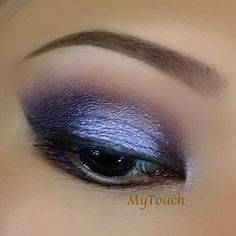 'Dream on a Whim' look by MyTouch using Makeup Geek's Cupcake, Drama Queen, Vanilla Bean, Day Dreamer and Whimsical eyeshadows and foiled eyeshadows.