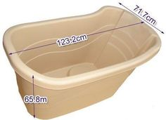 Julie's Bathtub - Enjoy Your Bath With Portable Bathtub: Portable bath tub with drainage pipe .