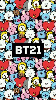 bt21 wallpaper