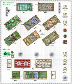 Garden Plan - 2013: 2013 JPL Garden
