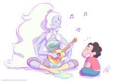 Opal and Steven Universe guitar lesson <3 <3 SU