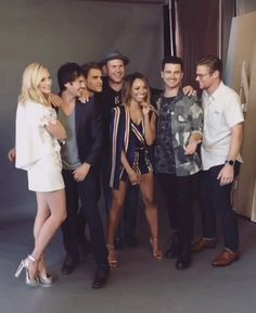 The cast of 'The Vampire Diaries' season 6 and 7 💖 Serie The Vampire Diaries, Vampire Diaries Memes, Vampire Diaries Seasons, Vampire Diaries The Originals, Enzo Vampire Diaries, Michael Malarkey, Caroline Forbes, Stefan Salvatore, Paul Wesley