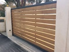Gates and fences Front Gates, Front Yard Fence, Entrance Gates, Front Gate Design, House Gate Design, Driveway Gate, Fence Gate, Garage Gate, Outdoor Paving