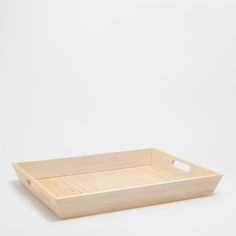 Image 1 of the product Natural wooden tray