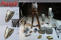 1/6 Berserk Guts Berserker (wolf) Armor version custom figure WIP