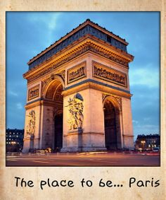 The place to be... Paris