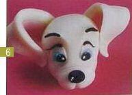 Cold Porcelain Tutorials: Make This Cute Dalmatian