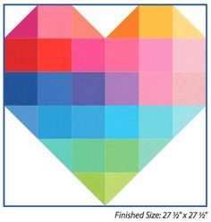 "Free Pattern - ""Color of My Heart"""