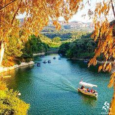The amazing #Bnachii lake, north #Lebanon! By Nur Turkmani #Lebanon #WeAreLebanon