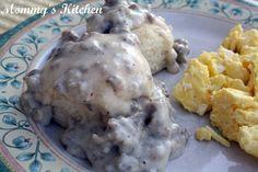 Mommy's Kitchen: Southern Sausage Gravy {A Southern Favorite}