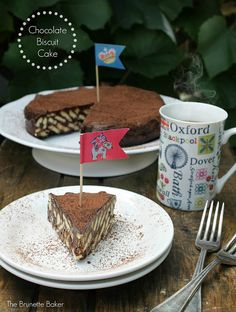 The Brunette Baker: Chocolate Biscuit Cake
