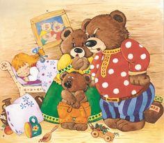 View album on Yandex. Sequencing Activities, Preschool Learning Activities, Teddy Bear Cartoon, Teddy Bears, Goldilocks And The Three Bears, Creation Photo, Paddington Bear, Animation, Bear Art