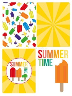 FREE PROJECT LIFE CARDS - IT'S SUMMERTIME!