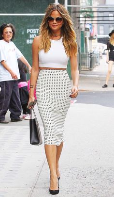 Pencil Skirt Outfit!