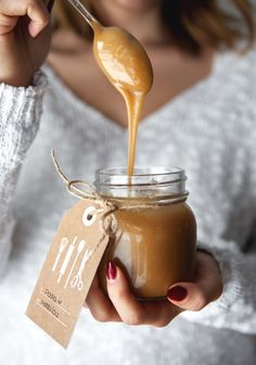Homemade Salted Caramel