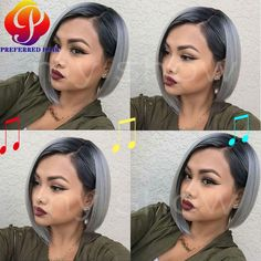Find More Synthetic Wigs Information about Hot!Silver Grey Synthetic Lace Front Wigs Straight Short Wigs for Black Women Lace Front Synthetic Wigs Short Wigs Free Shipping,High Quality wigs for black people,China wig extension Suppliers, Cheap wig wig from Qingdao Preferred Hair Products Co., Ltd. on Aliexpress.com