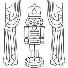 nutcracker coloring page httpdesignkidsinfonutcracker coloring