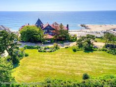 35 Ocean Ave, Monmouth Beach, NJ 07750 | MLS #22130740 | Zillow Monmouth Beach, Stanford White, Ocean Front Property, Buses And Trains, Historic Architecture, Once In A Lifetime, The Hamptons, Acre, Golf Courses