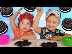 ✿ OREO CHALLENGE // ОРЕО ЧЕЛЛЕНДЖ Вызов Принят Челленджи печенье ОРЕО Для Детей OREO cookie Unboxing {{AutoHashTags}}