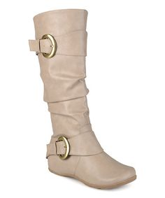 Another great find on #zulily! Stone Paris Wide-Calf Boot #zulilyfinds