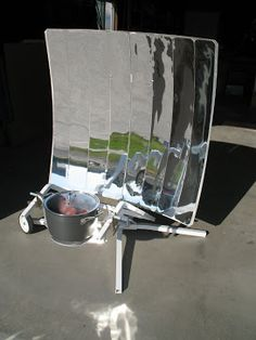 Efficient #Solar Cooker. Great for camping, emergencies, and across developing countries. No emissions!