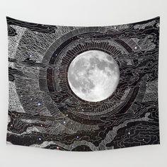 Moon Glow Wall Tapestry by Brenda Erickson - $39.00