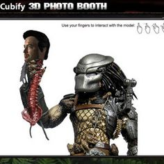 COMIC-CON 2013: Predator 3D Figurine Features Your Decapitated Head -- The 1987 sci-fi action classic will be available to pre-order at the convention, and includes a customized toy. -- http://wtch.it/ynyz2