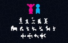 AW // TYPE Characters made from the CKMY modules.