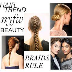 NYFW braids rule