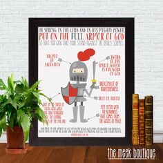 INSTANT DOWNLOAD Armor of God Scripture by TheMeekBoutique on Etsy, $5.00