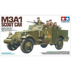 TAMIYA M3A1 SCOUT CAR 1/35 Tamiya Model Kits, Tamiya Models, Plastic Model Kits, Plastic Models, Windshield Cover, Thing 1, Military Equipment, Old Models, Armored Vehicles