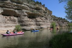 kayaking to Alcantara vineyard Verde Valley, AZ--looks fun, Arizona was never on my list of fam. vacation destinations but maybe it should be