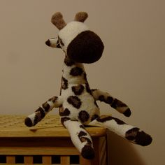 Sock Giraffe by ebygomm, via Flickr