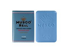 MUSGO REAL | BODY SOAP    Musgo Real collection for men.  Created in 1920  by Claus Porto   - www.takeportugal.com $6.81