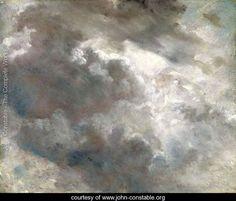 Cloud Study 1821 (2) - John Constable - www.john-constable.org