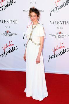 Alba Rohrwacher in Valentino.