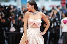 "Adriana Lima Photos - Model Adriana Lima attends the screening of ""Burning"" during the annual Cannes Film Festival at Palais des Festivals on May 2018 in Cannes, France. - 'Burning (Beoning)' Red Carpet Arrivals - The Annual Cannes Film Festival Celebrity Red Carpet, Celebrity Style, Adriana Lima Style, Brazilian Supermodel, Music Festival Fashion, Palais Des Festivals, International Film Festival, Alberta Ferretti, Red Carpet Dresses"