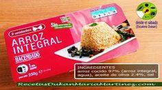 Arroz Integral apto Dieta Dukan, en Mercadona: para la Nueva dieta Dukan desde el sábado o para Consolidación