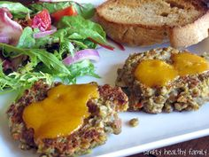 Simply Healthy Family: Lentil Burgers with Smoked Gouda