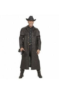 Disfraz de pistolero duelo a muerte para hombre