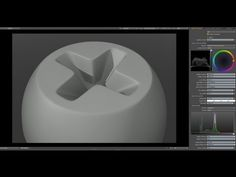 Luxology Modo - Modeling a Cross Screw Head - YouTube