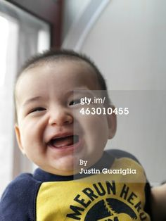 Stock Photo : Baby boy making various faces and gestures